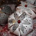 Karácsonyi papírgömbök