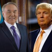 Trump fogadta Nazarbajevet