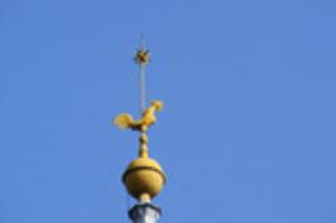 Miért van kakas a templom tornyán?