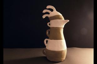 Kakas kávéscsésze szett