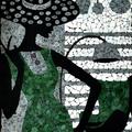 Mozaikképek - üveghulladékból