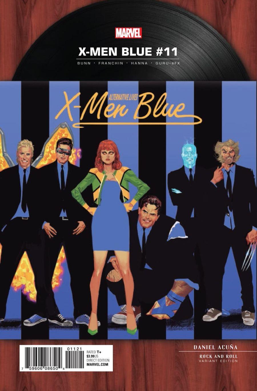 X-Men Blue #11