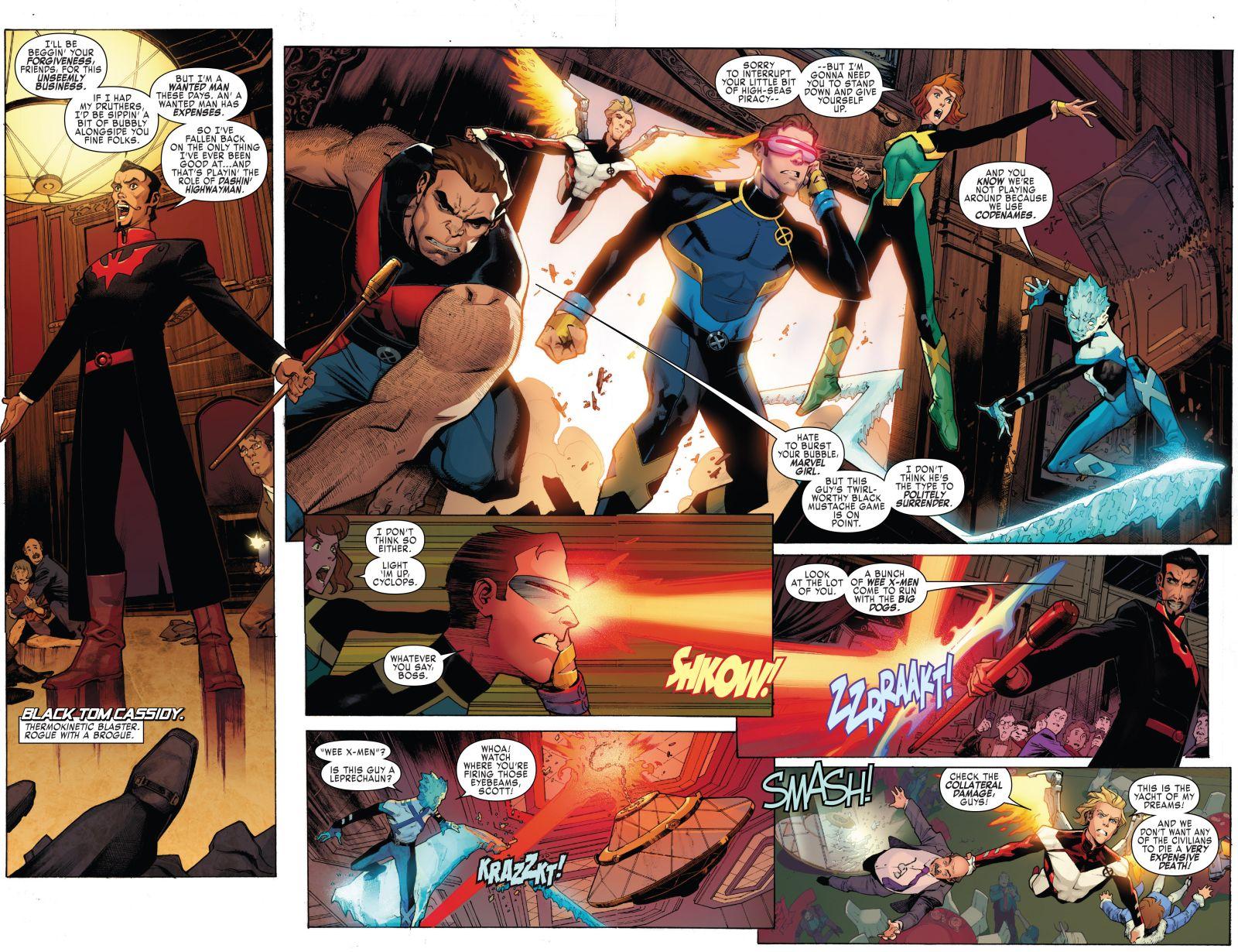X-Men Blue #1