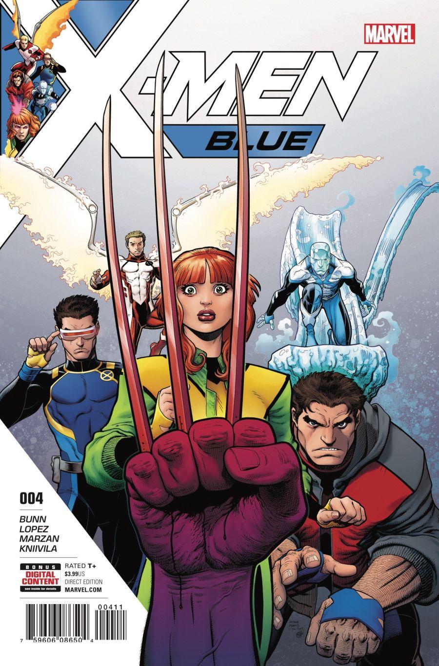 X-Men Blue #4