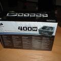 Corsair 400w PC táp Unboxing