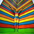 Az emberi test, mint festővászon