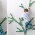 Fáramászó dekoráció gyerekeknek