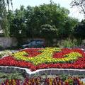 Klassz képes virágágyás Újpesten