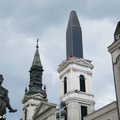 Tényleg olyan, mint egy ceruza a Petőfi téri templom tornya?