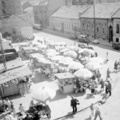 Ilyen volt a Fény utcai piac, amikor még nem készült el a Mammut - a nap archív képe