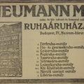 A nap képe: a papi és a gyászruháknak is külön osztálya volt az Astoriánál működő áruházban