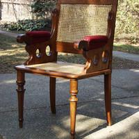 Az Ország széke. Nem valami kamu cím, ez tényleg az országé. Egy évszázados lappangás után került elő Rákosszentmihályon