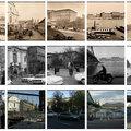 Lenyűgöző hármasképek Budapestről: ugyanazok a helyek, ugyanabból a szögből a XIX., a XX. és a XXI. században