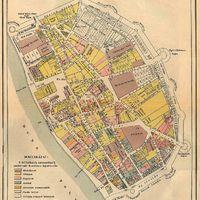 Pest 1758-as térképe. Na melyik utca neve nem változott azóta?