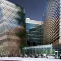 Szálloda-irodaház komplexum épülhet a Finta tervezte Hotel Volga helyén. Az arra kiírt pályázatot is Finta nyerte meg
