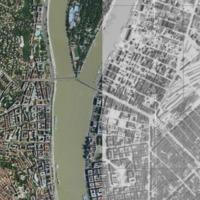 Mennyit változott Budapest hetven év alatt? Böngésszük a két légi/égi fotót együtt!