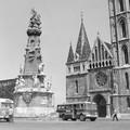 A nap képe: Mátyás-templom, 1969. Nem hiányzik valami róla?