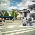 Ilyen volt a parkosított Hősök tere. 75 éve, hogy teljesen lekövezték, nézzétek meg, milyen lenne fűvel, fával, bokrokkal