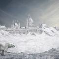 Hogy nézne ki a befagyott Duna jegesmedvével? Nagyjából, mint a sivatagos Hősök tere tevével. Fantasztikus Budapest-képek