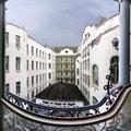 Pazar panorámaképek a Lechner-féle Postatakarék épületről