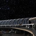 A Liszt Ferenc Repülőtér az űrben - újabb fura látványterv, ezúttal a Sky Court díszkivilágításáról