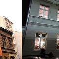 A nap képpárja: a Kazinczy utcai egykori kóser húsüzem 2005-ben és 2012-ben