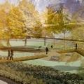 Ökoparkot építenek a svédek a Lánchíd budai hídfőjénél