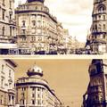 A Blaha Lujza tér egykor és most. 130 éves Erzsébetváros