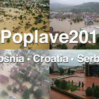 NASA műholdfelvétel az évszázad szerb-bosnyák-horvát árvizéről