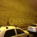 A nap képe: graffiti a Váralagút kormába rajzolva