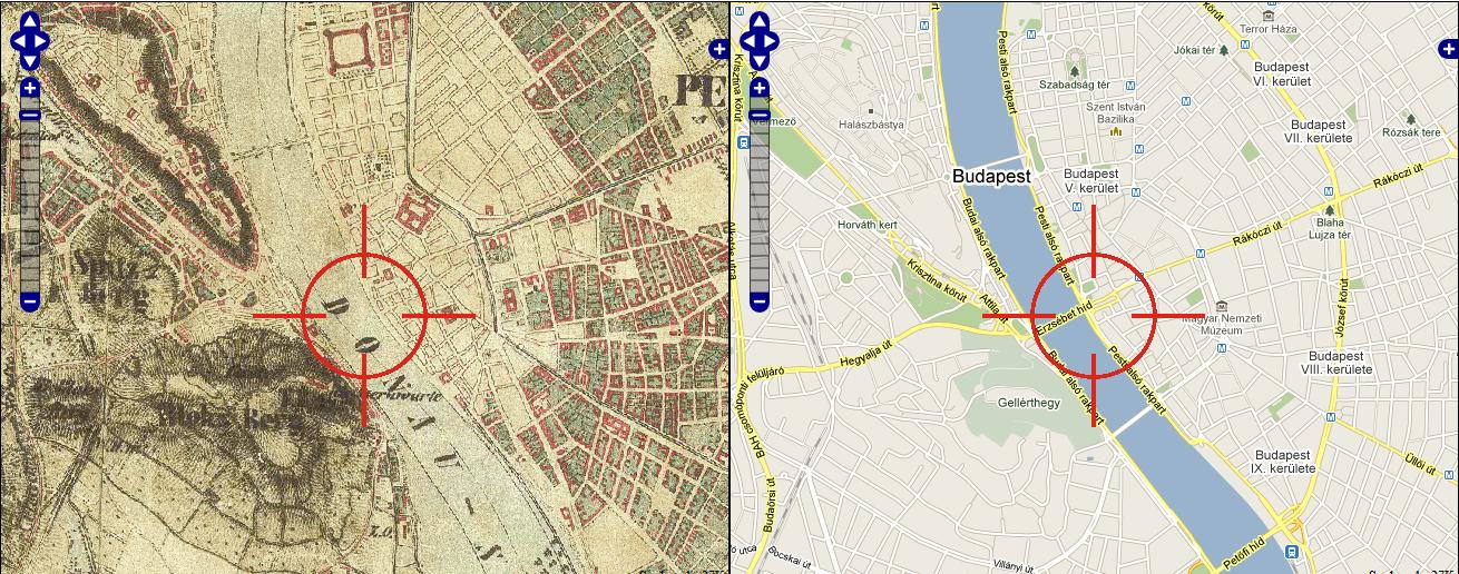 arcanum.hu, archív, Budapest, böngészhető, google maps, Magyarország, neten, online, régi könyvek, térképek