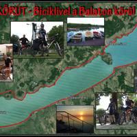 Kerékpárral a Balaton körül!