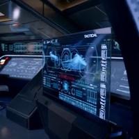 Részletes körutazás a USS Discovery hídján