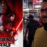 Wil Wheaton az új Star Wars film bemutatóján trollkodott