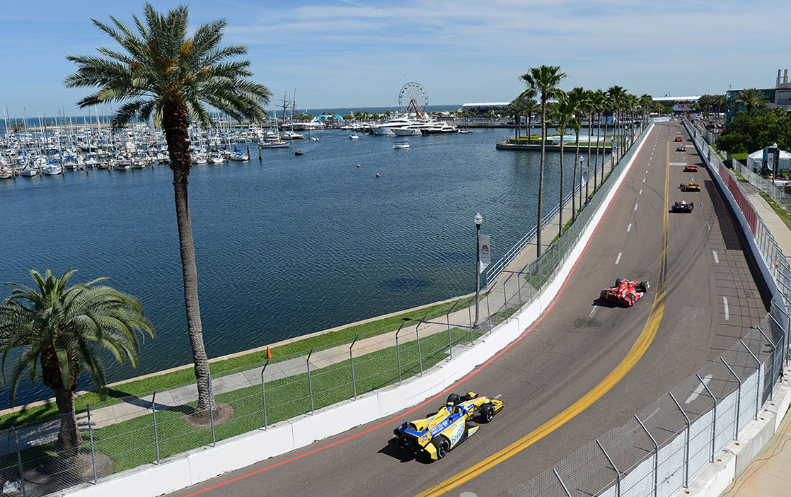 The Firestorm Grand Prix is held each spring in St. Pete