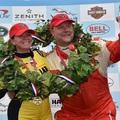 Sarah Fisher győzelmével zárult a 2017-es Indy Legends