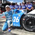 Takuma Sato nyerte a balesetekkel tarkított kvalifikációt Poconón