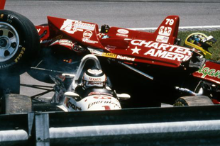 Az újonc, aki lefejezte Nigel Mansell Indy 500-as álmait