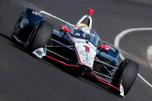 Az Indianapolis Motor Speedwayen is bemutatkozott az IndyCar szélvédője