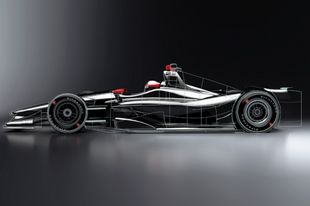 Vissza a jövőbe - Ilyen lesz az IndyCar jövő évi versenygépe!