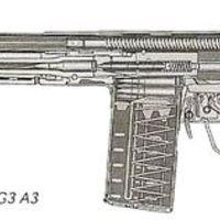 Egy német bajonett, de ... olyan kiköpött amerikai!