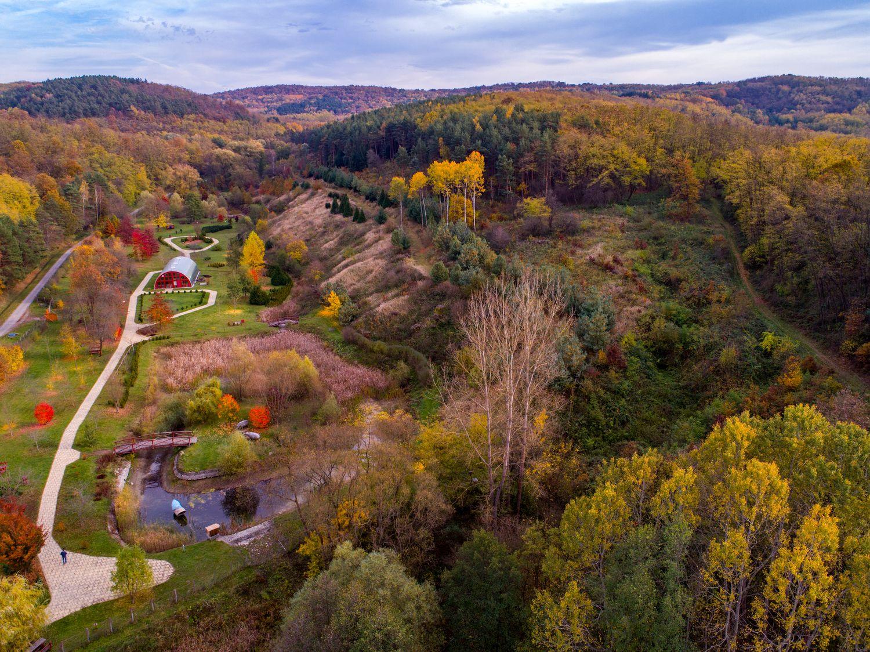Az Ipolytarnóci Ősmaradványok természetvédelmi terület ősszel. Fotó: BNPI
