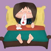 Rettegett kiütések - a 3 leggyakoribb gyermekbetegség