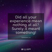 Isten álmot ad, hogy fejlessze hitedet-Isten jóra használja a hibáidat, bukásaidat-Isten személyének egyik jellegzetessége