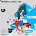 Egy térképen Európa legerősebb startupjai
