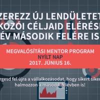 Megvalósítási Mentor Program nyílt nap - 2017.06.16.