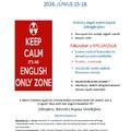Angol nyelvi tábor