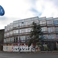 Hotel Olimpia bontása