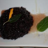 Fekete rizs kása rizssziruppal