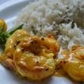 Garnéla curry